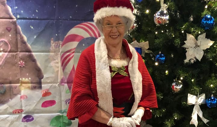 Mrs. Claus at a brilliant christmas event in Dublin and Kildare