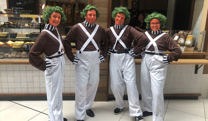 Oomp Loompas at a brilliant event in ireland