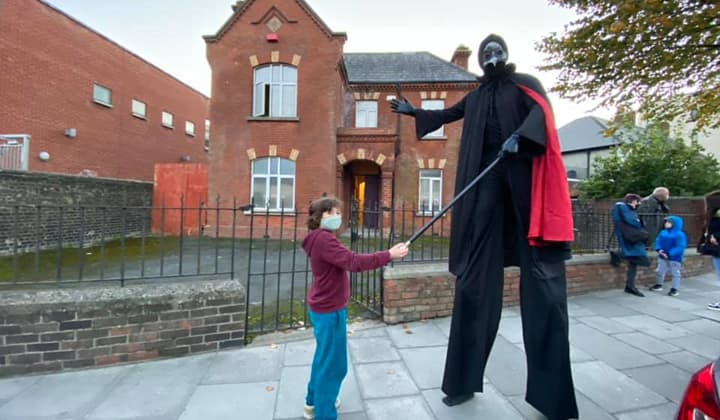 children's entertainer in Dublin ands Kildare during Halloween