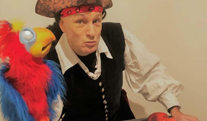 Captain Splash pirate theatre shows for kids in Ireland