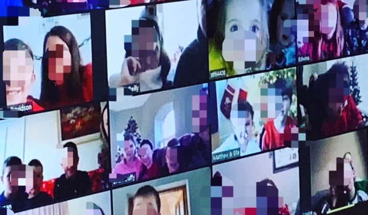 Imagination Exploration online zoom show for kids