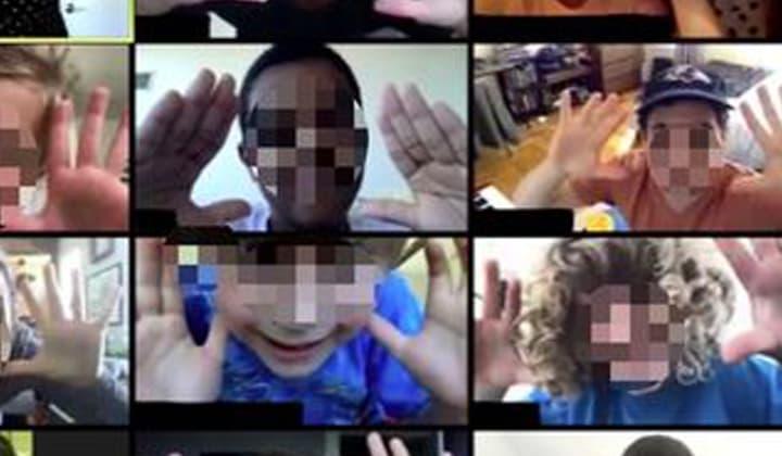Imagination Exploration online zoom show for children in Ireland