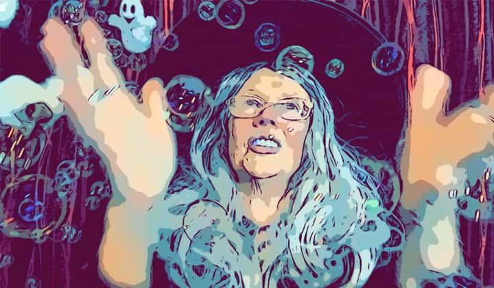 Online Halloween Storytelling zoom show for children